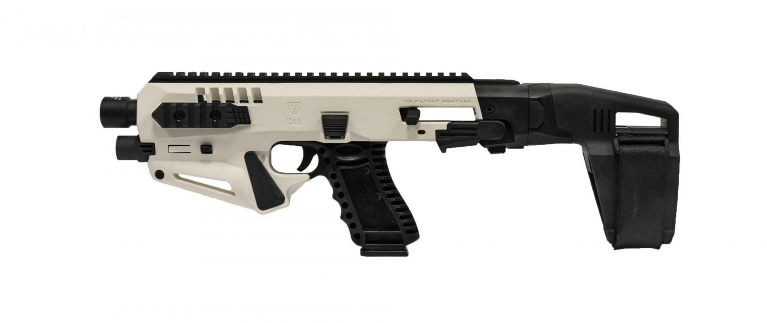 Micro Roni Stab X Gen 4 White